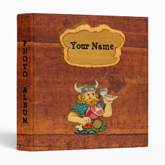 "Viking 1"" Customizable Binder/Album Binder"