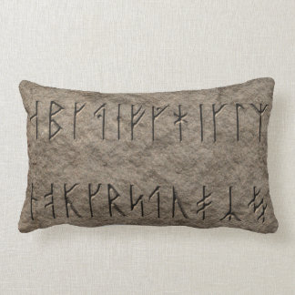 Viking Alphabet Throw Pillows