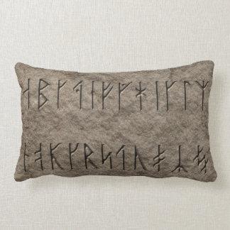 Viking Alphabet Throw Pillow