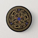 Viking Art Design Button