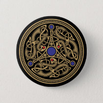 Viking Art Design Button