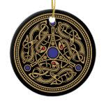 Viking Art Design Ceramic Ornament