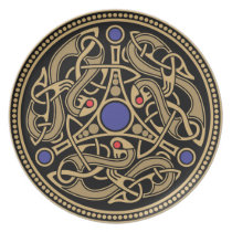 Viking Art Design Plate