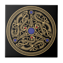 Viking Art Design Tile