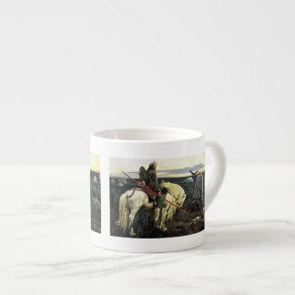Viking at the Crossroad Espresso Cup