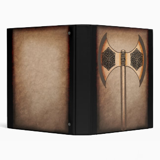 Viking axe 3 ring binder