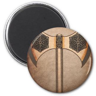 Viking axe magnet