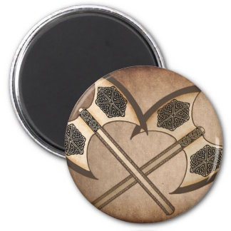 Viking axe's magnet