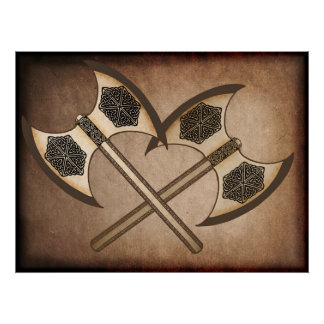 Viking axe's poster
