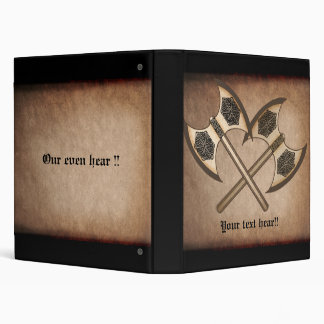 Viking axe's vinyl binder