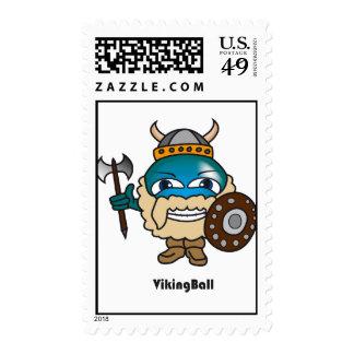 Viking Ball Stamp