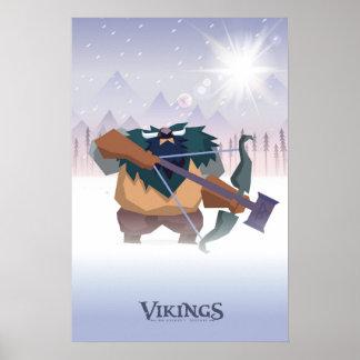 Viking berserker poster