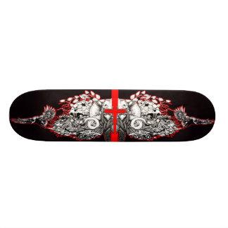 Viking Blood Cross Skateboard Deck