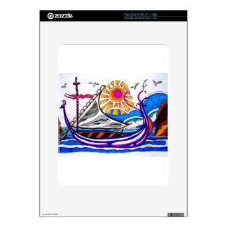 VIKING BOAT 6 iPad SKIN