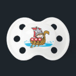 "Viking Boy Pacifier<br><div class=""desc"">The cutest Viking boy takes the seven seas!</div>"