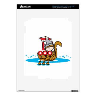 Viking Boy Decals For iPad 3