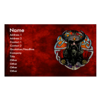 Viking Business Card