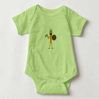 Viking carrot baby bodysuit