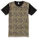 Viking Celtic Intertwining Animal Pattern All-Over-Print Shirt