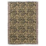 Viking Celtic Intertwining Animal Pattern Throw Blanket