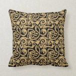 Viking Celtic Intertwining Animal Pattern Throw Pillow