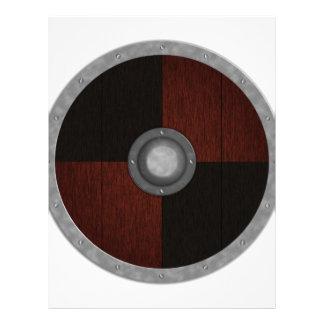Viking Circle Shield Custom Letterhead