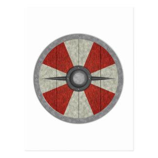 Viking Circle Shield Postcard