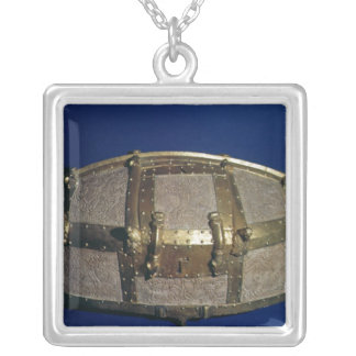 Viking coffer for gold silver plated necklace
