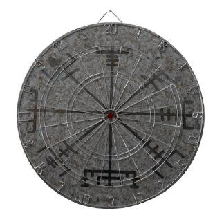 Viking Compass Dartboard With Darts