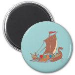 Viking dragon boat Viking dragon boat Fridge Magnet