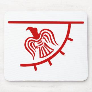 Viking Eagle Banner Mouse Pad