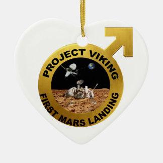 Viking: ¡El primer aterrizaje en Marte! Ornamento Para Reyes Magos