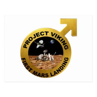 Viking ¡El primer aterrizaje en Marte Postales