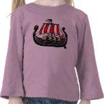 Viking envía de largo para Vikingos Camiseta