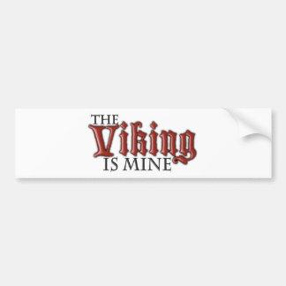 Viking es el mío pegatina para auto