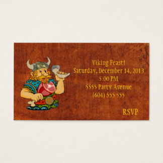 Viking Feast RSVP Card