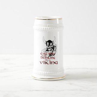 Viking Feast Stein