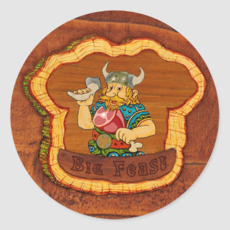Viking Feast Sticker