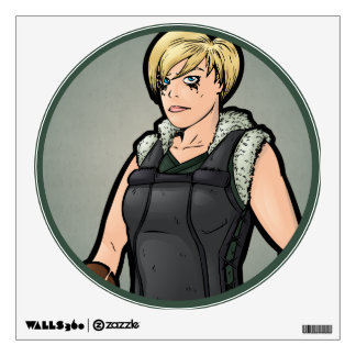Viking -- Female Wall Sticker