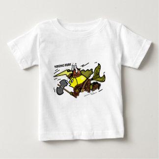 Viking Fish funny cute sparky comic medieval Tee Shirt