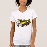 Viking Fish funny cute sparky medieval t-shirt