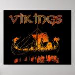 Viking Funeral Poster