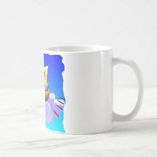 Viking Galley Ship  #001 Coffee Mug