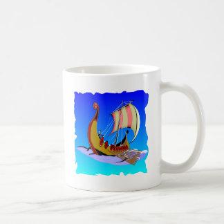 Viking Galley Ship   #002 Coffee Mug