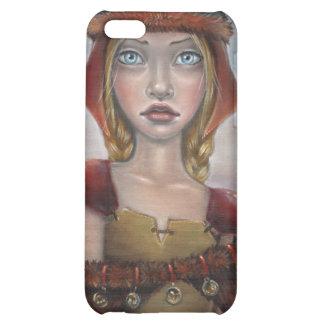 Viking Girl iPhone 5C Cases