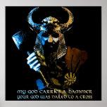 Viking God Poster