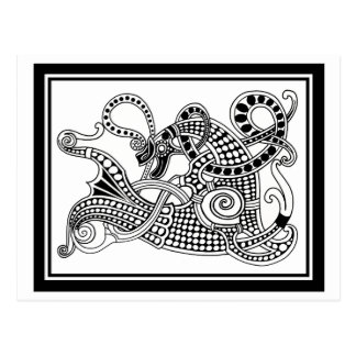 Viking Great Beast Postcard