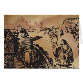 Viking Heimskringla Ormen Korte Greeting Card