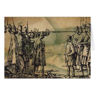Viking Heimskringla Ormen Lange Greeting Card