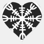 Viking Helm of Awe Stickers